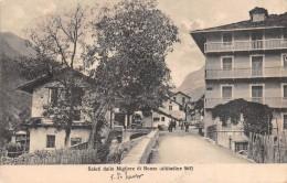 """01274 """"(TORINO) SALUTI DALLE MIGLIERE DI BONZO - VALLI DI LANZO M. 965"""" ANIMATA. CART. POST. SPEDITA 1922 - Italia"""