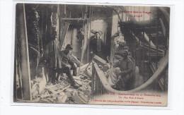 CPA 88 - SAINT-DIE - Bombardement Du 27 Décembre 1914 - Un Obus Rue D'Alsace - TB PLAN Réfugiés CAVE GUERRE 1914 - Saint Die