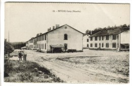 CPSM MILITAIRE BITCHE (Moselle) - Le Camp : Vue Générale - Bitche