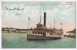 Steamer Miles Standish, Nantasket Beach MA - Nantucket