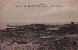 56 - Morbihan - Quiberon - Cote Sauvage - Rocher Et Pointe De Goalennek - Quiberon