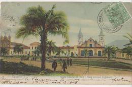 CPA EQUATEUR ECUADOR IBARRA Iglesia Plaza Principal Imbabura Timbre Stamp 1908 - Ecuador