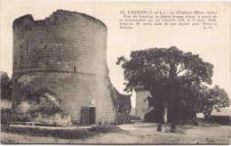 CHINON - Le Château - Tour Du Coudray Où Habita Jeanne D'Arc - Chinon