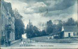 Bruxelles - Watermael - Rue De La Station - Belle Animation - Watermael-Boitsfort - Watermaal-Bosvoorde