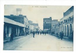 TUNISIE - SAFFI - 2 CPA : Rue Du R'Bat - La Douane Et Ses Quais - Túnez