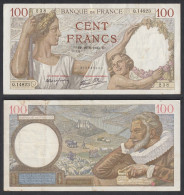 Billet De 100 Francs Du 22/08/1940 - 1871-1952 Anciens Francs Circulés Au XXème