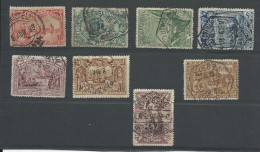 PORTUGAL - YVERT N° 146/153 OBLITERES - COTE = 65 EUROS - - 1910-... République