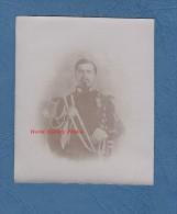 Photo Ancienne - Portrait D'un Officier D'un Régiment à Identifier - Voir Uniforme , Ceinturon - Gendarme ? - War, Military
