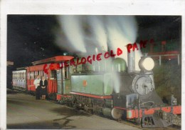 """AUSTRALIE - PUFFING BILLY' S """" NIGHT TRAIN """" A NIGHT REMEMBER - DANDENONG RANGES VICTORIA - Cartes Postales"""
