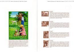 """Document Officiel De 2006  (4 Pages) N° 21 06 510 """" LES JEUNES ANIMAUX DOMESTIQUES """" N° YT BF 96. DPO - Briefmarken"""
