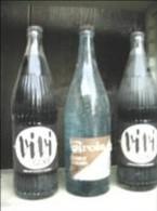 Vivi Cola Eau De Source Carola Alsace Bouteilles Bistrot Anciennes - Soda