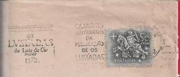 Lusíadas Of Luís De Camões.400 Years Publication 'Book Lusíadas 1472'.Writer.Poet.Discoveries.India.Obliteration 1972.2s - Poststempel (Marcophilie)