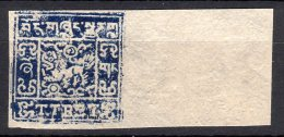 Tibet 2/3 Tr Waterfall No. 134 DEEP INDIGO MNH Margin Cpoy Genuine  (4-111) - Stamps