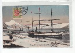 ISLANDE - Kryolitdamperei ved Ivigtut - Bateau (voilier) - �tat