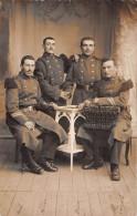 ¤¤  -  VANNES  -  Carte-Photo Militaire  -  Groupe De Soldats En 1908  -  116 Sur Les Cols   -  ¤¤ - Vannes