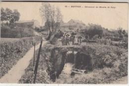 Mettet - D�versoir du Moulin de Scry - anim�e - 1910 - G. Palate-Rolen, �diteur n� 10