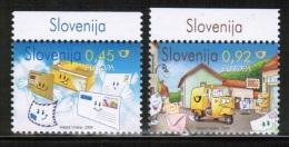 CEPT 2008 SI MI 682-83 SLOVENIA - 2008