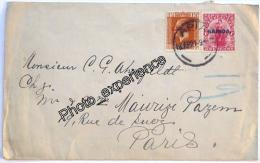 Lettre Cachet Timbre Stamp Briefmark 1921 SAMOA Océanie Island Oceania - Samoa