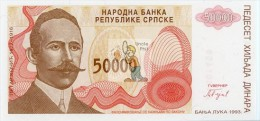 BOSNIE HERZEGOVINE - BOSS-50000DIN-1993C / P 150 - NEUF/UNC - Bosnia And Herzegovina