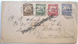 Lettre Timbre Stamp Briefmark 1906 SAMOA Océanie Island Oceania Deutsche Kolonie - Samoa