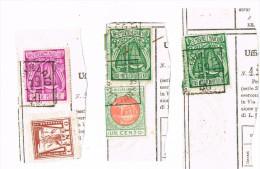 Lotto 101 - Pesi Misure E Marchio Su 3 Frammenti £.1.500 £. 1. 000  E £. 100 - 6. 1946-.. Repubblica