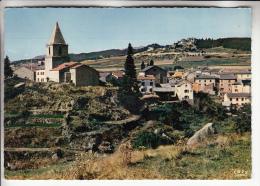 BOLQUERE Et SUPERBOLQUERE 66 - Vue Générale - CPSM Dentelée Noir Blanc Colorisée GF - Pyrenées Orientales - Frankrijk