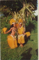 Tamouré A Tahiti Vahiné Jeannine Et Vitu Groupe Heiva - Tahiti