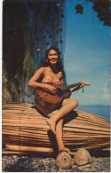Vahiné  Chanteuse Tahitienne Guitare  Tahitian Singer - Tahiti
