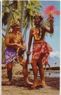 Vahiné  Danseuse Tahitienne  Tahitian Dancer - Tahiti