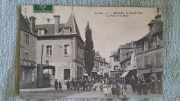 19 Corrèze , Juillac , La Grande Rue , La Poste Et La Halle - Juillac