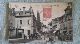 19 Corrèze , Juillac , La Grande Rue La Poste La Halle - Juillac