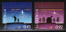 CEPT 2009 SI MI 730-31 SLOVENIA - Europa-CEPT