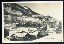 Cpa De Suisse Vaud - Leysin Vue Générale -  édition Perrochet Matile Lausanne JA15 52 - VD Vaud