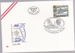 AUTRICHE : FDC : Sesquicentenaire De La Navigation Sur Le Lac Traunsee - FDC