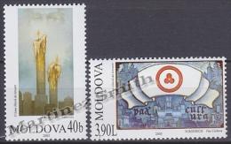 Moldavia - Moldova - 2003 Yvert 407-08 Fight Against Terrorism - MNH - Moldova