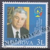 Moldavia - Moldova - 2003 Yvert 410  Presidency Of Moldavia European Council - MNH - Moldova