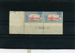 Guadeloupe  Y/T 115         MNH   1928  Paire - Neufs