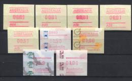 AUSTRALIA,  ATM,  SMALL LOT - Vignette Di Affrancatura (ATM/Frama)
