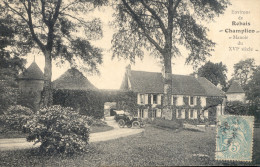 Rebais Champlion Manoir Du XVI Siecle. Voiture.    1906 - Rebais