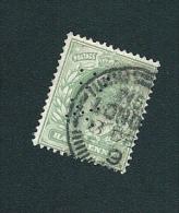 N° 106 Edouard VII  Perforé DX  1902 GRANDE BRETAGNE - Great Britain