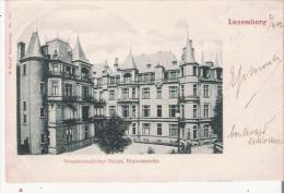 LUXEMBOURG 113 GROSSHERZOGLICHER PALAST, HIUTERANSICHT  1902 - Luxembourg - Ville