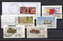 SPANIEN, ESPANA   ATM,   SMALL  LOT, - Colecciones