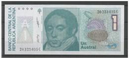 ARGENTINA 1985 - 1 Australes Pick 323/b -  Banconota In Condizioni FDS - Argentina