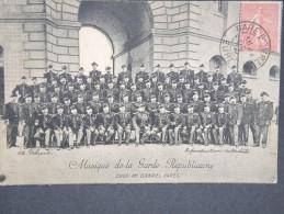 FRANCE- CARTE POSTALE DE LA GARDE REPUBLICAINE 1906 A VOIR LOT 2494 - Régiments