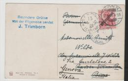 Jud033/  Judaika, Jaffa 1910 Nach Bonn Weitergeleitet Nach Genua. Bildkarte Von Bethlehem (Judauka) - Palästina