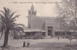 MARSEILLE EXP COLONIALE PALAIS DE L'AFRIQUE OCCIDENTALE (dil126) - Expositions