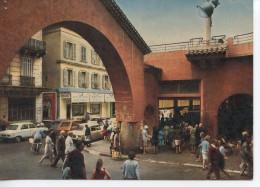 CANNES - Le Marché Forville Style Provençal - Animé - CPSM Colorisée - Cannes