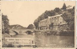 Anseremme  Le Pont St Jean Et L'Hôtel De La Lesse;  1947 - Dinant
