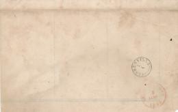 Province Du LUXEMBOURG - Fragment Avec Cachets FLORENVILLE Type 18 Et Double Cercle NEUFCHATEAU 1844  --  WW312 - 1830-1849 (Belgique Indépendante)