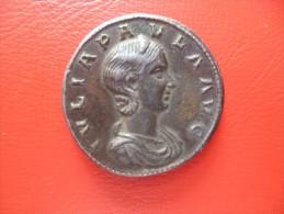 EMPIRE ROMAIN JULIA PAULA(219-220) TRES BEAU SESTERCE (PADOUAN) POID: 22,3 Grammes(description) - Romaines